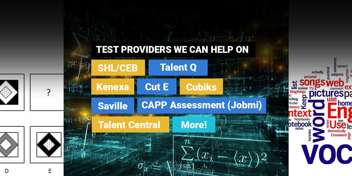 The  1 Provider To Pass Psychometric Tests